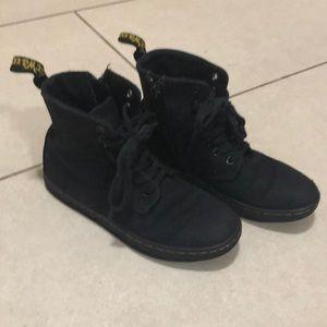 Boys girls kids 12 canvas Dr Martens shoes boots